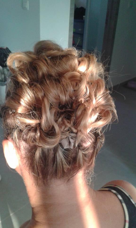 Chignon liege coiffure